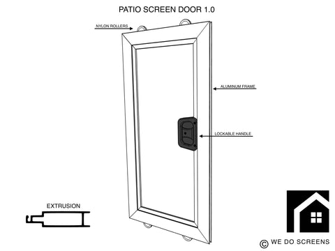 Patio Screen Door 1.0