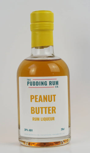 Peanut Butter Rum Liqueur - The Pudding Rum Company