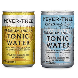 Fevertree Tonic Box 8 x 150ml Cans - Yorkshire Fairytale Gin, Unique Flavoured Gins with Sparkles