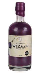 Cottingley Wizard Violet Gin  - The Fairytale Gin - Yorkshire Fairytale Gin, Unique Flavoured Gins with Sparkles
