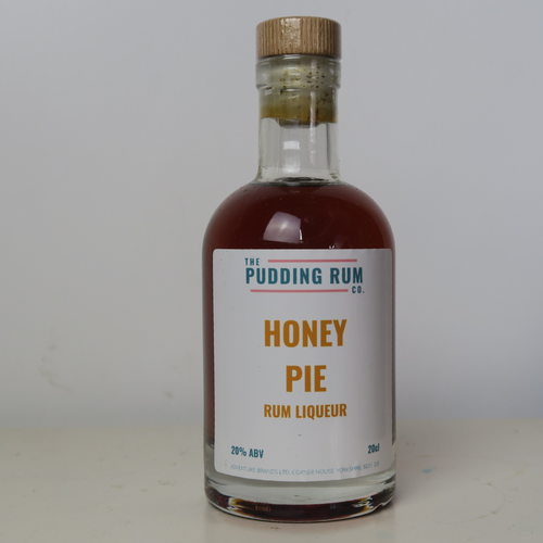 The Pudding Rum Company - Honey Pie Rum Liqueur - Yorkshire Fairytale Gin, Unique Flavoured Gins with Sparkles
