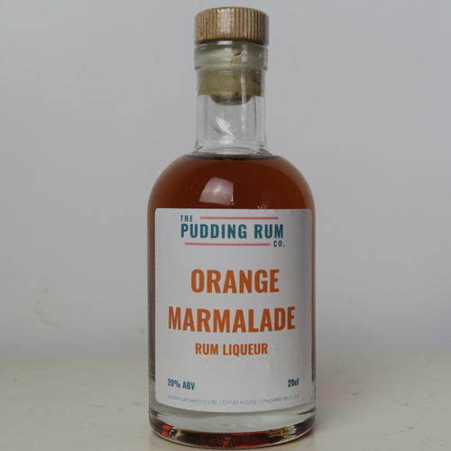 The Pudding Rum Company - Orange Marmalade Rum Liqueur - Yorkshire Fairytale Gin, Unique Flavoured Gins with Sparkles