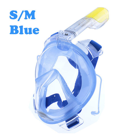 Image of Underwater Scuba Anti Fog Full Face Diving Mask Snorkeling Set