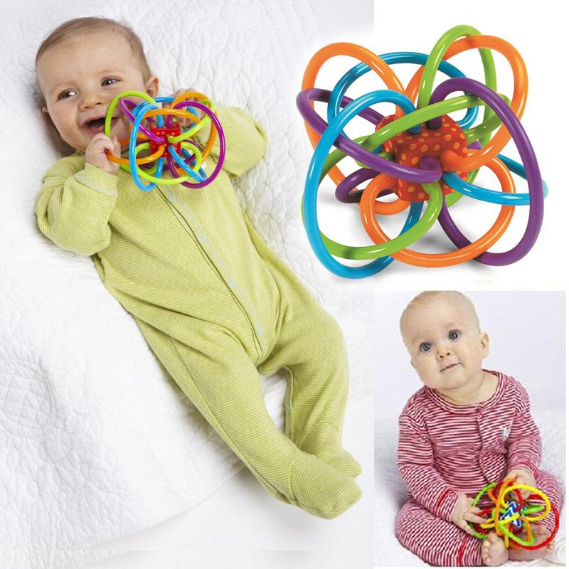 Baby Bell Rattle And Teething Toy