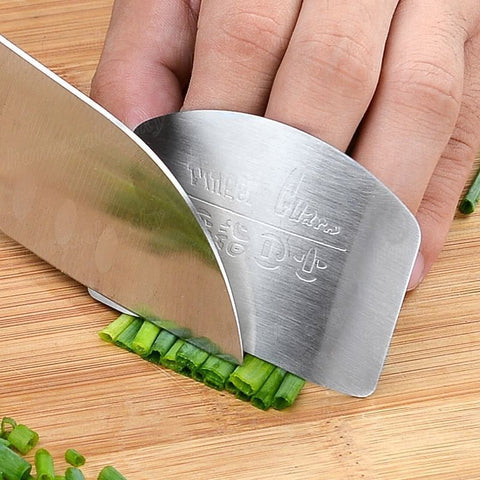 Stainless Steel Finger Knife Protector