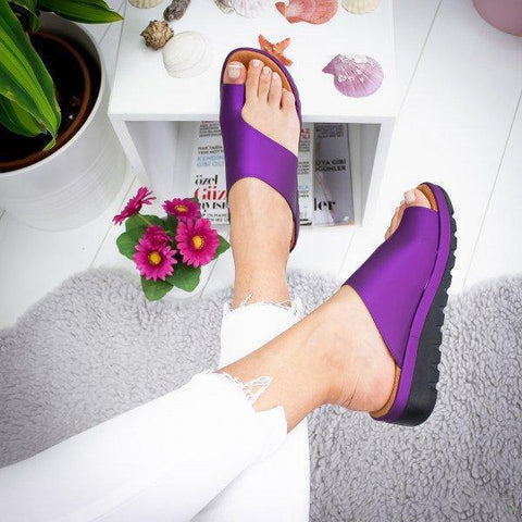 ebc64e07 Free yourself from the pain of bunions now with these Bunion Relief Max  Comfort Sandals. These are the trendiest bunion cure ever!