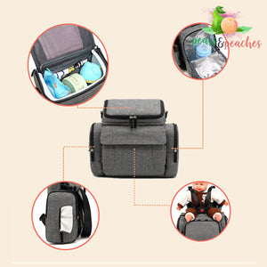 2-in-1 Convertible Baby Seat Bag