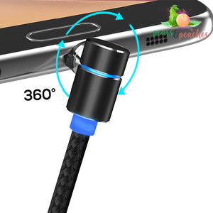 360° Rotating Magnetic Charging Cable