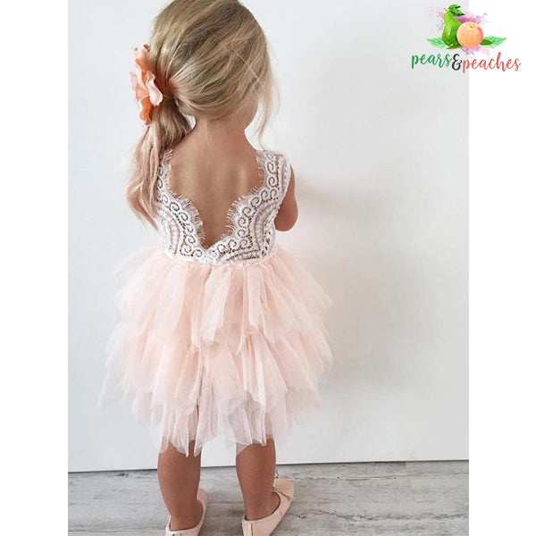 837e86fbd0c8f Princess Lace and Tulle Dress