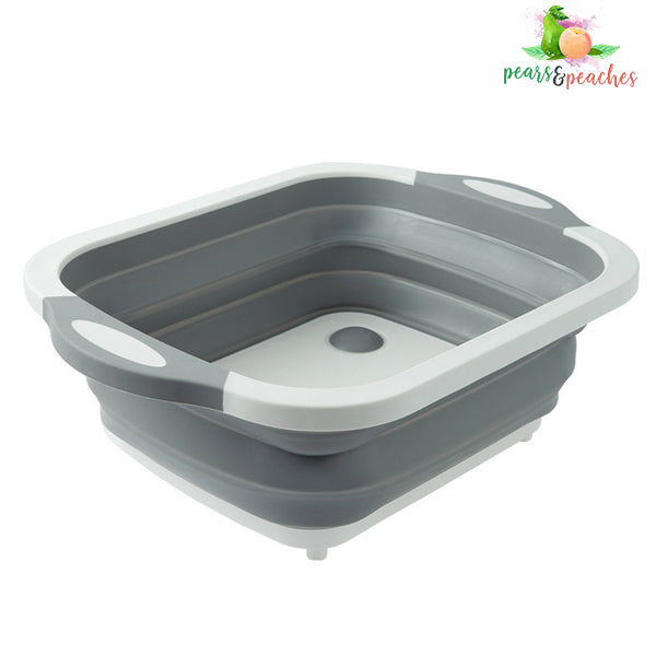 Collapsible Multi-Function Chopping Board