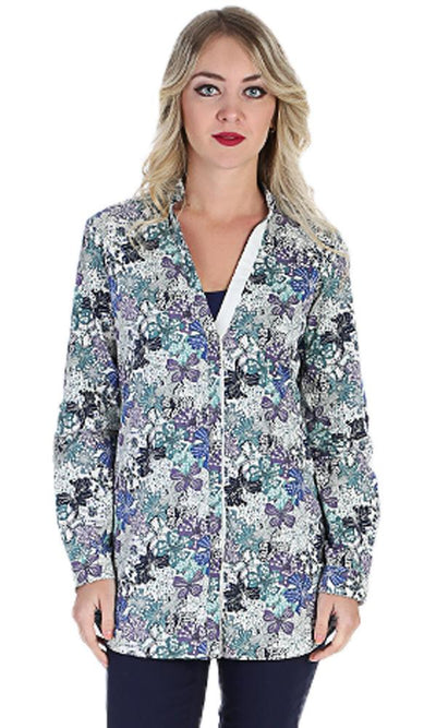 Floral Pattern Shirt - Multicolour