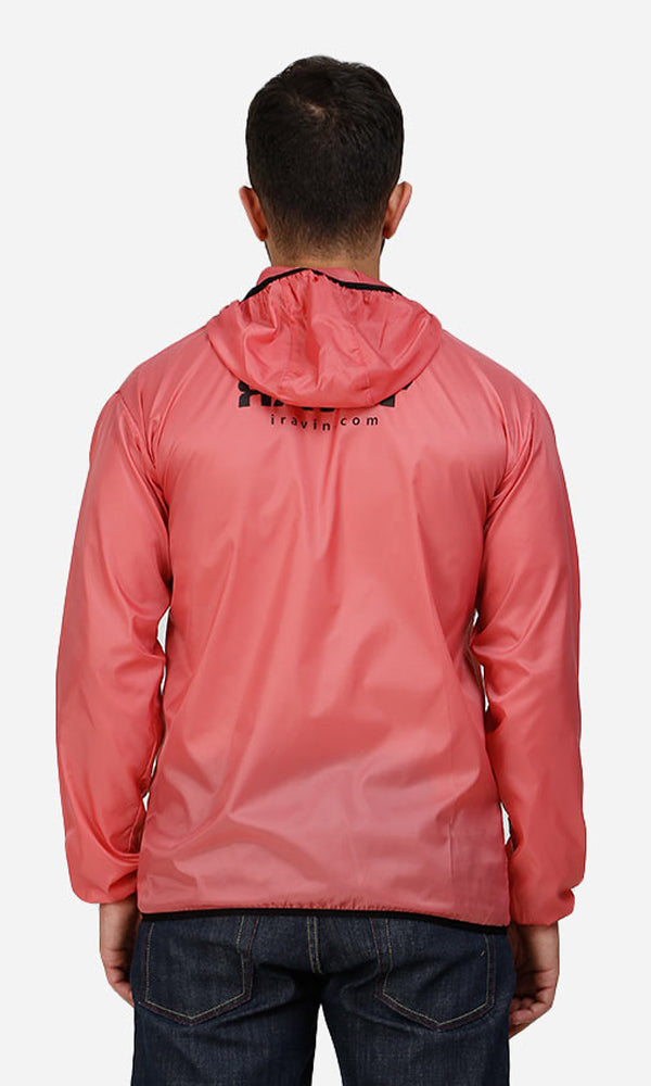 men jacket - red