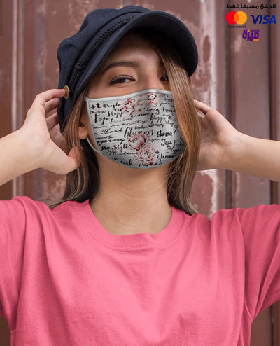 Text Custom Face Mask - Ravin