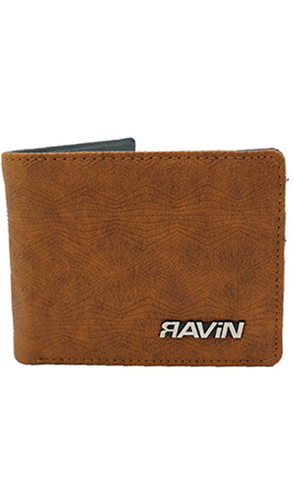 rubber wallet - brown