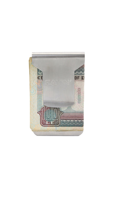 30918 Metal Money Clip - Silver