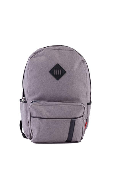 31114 Solid Backpack – Grey - Ravin