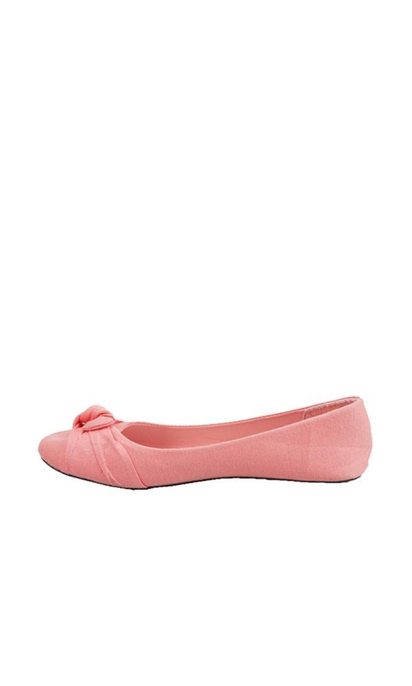 Upper Bow Ballerinas - Red