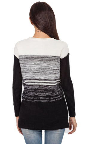 32257 Color Shades Pullover - Black