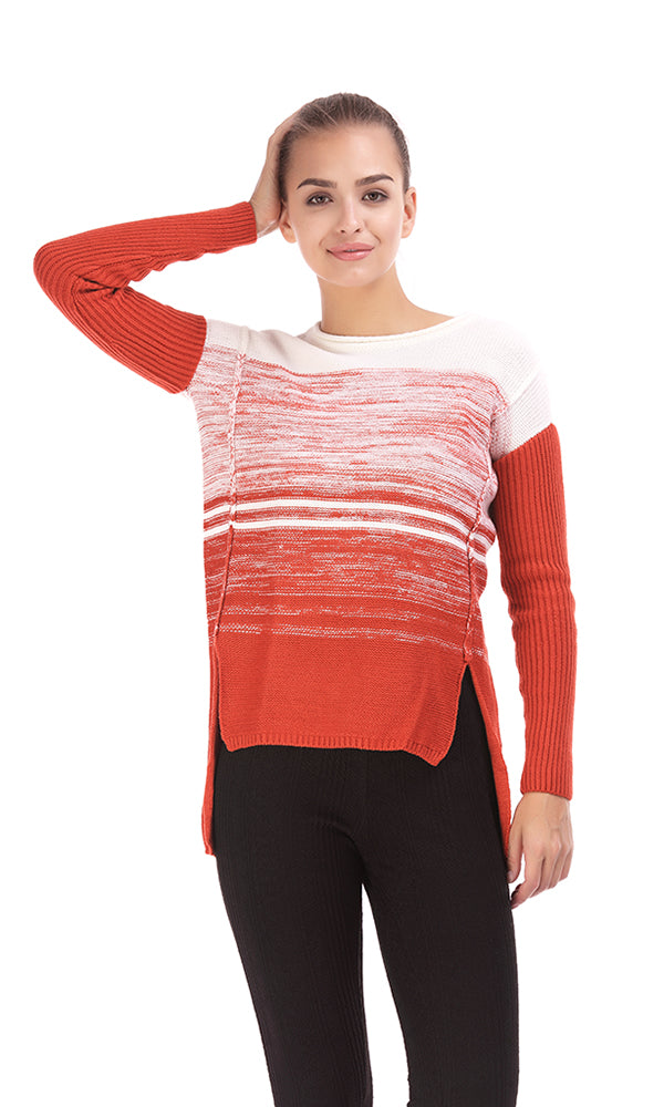 Gradient Sweater - Orange