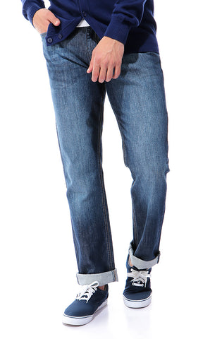 Winter's Essential Casual Jeans - Dark Blue Jeans