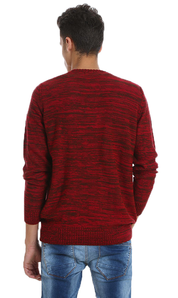 Marled Sweater-V-Neck