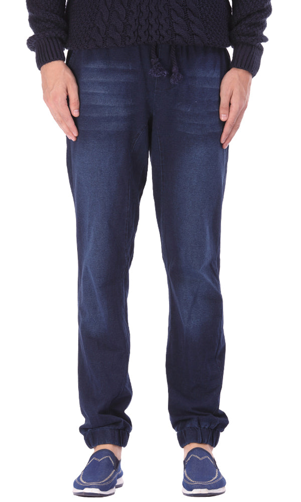 Denim Jogger Trouser
