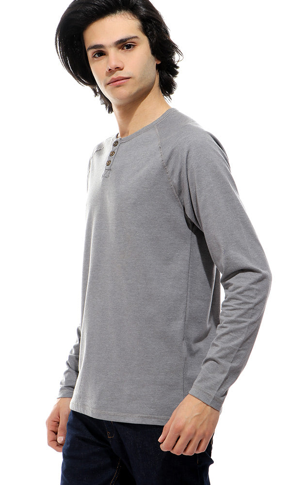 Henley Long Sleeve T-Shirt