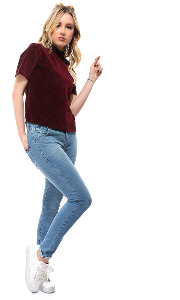 34619 Skinny Light Blue Casual Jeans