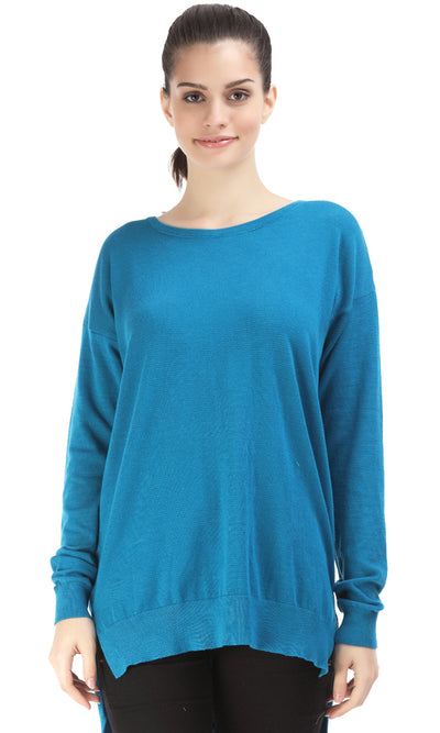35153 Basic Sweater - Blue