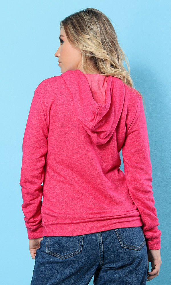 Solid Hooded - Pink