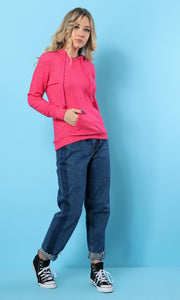 35178 Solid Hooded - Pink