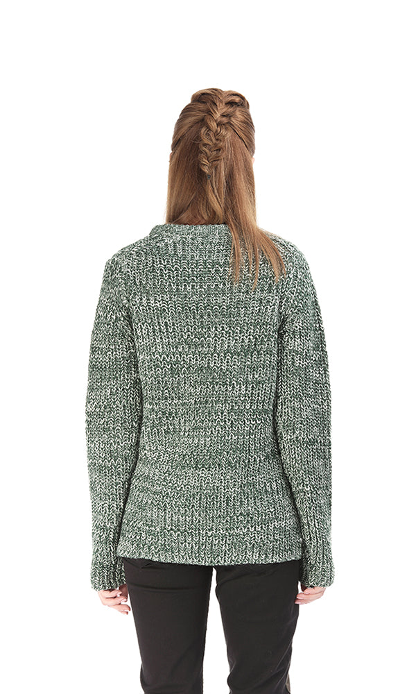 High-Low Sweater-Round Neck