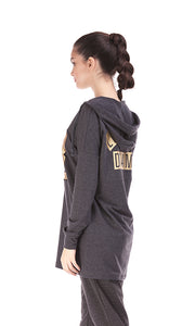 35533 Hooded Sweatshirt - Dark Grey