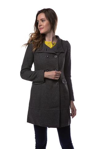 35541 Elegant Jacket - Dark Grey