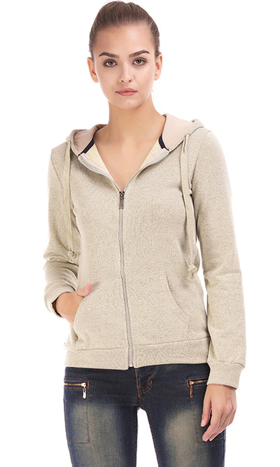 35981 Hooded Sweatshirt  - Beige