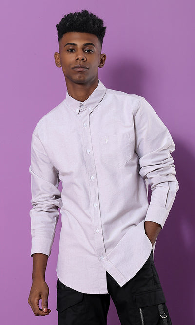 Elegant Casual Beige Shirt - male shirts