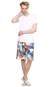 39773 Printed Boardshort - Orange