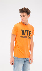 Want The Ferrari-T-Shirt - Orange
