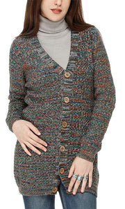 41700 Colorful Cardigan - Multicolour