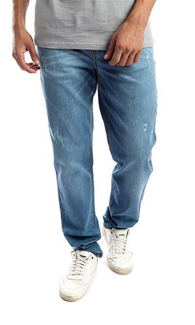 41867 Light Washed Jeans - Light Blue