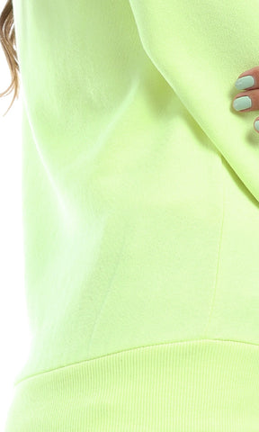 Spring Break Casual Perfect Hoodie - Neon Summer Yellow
