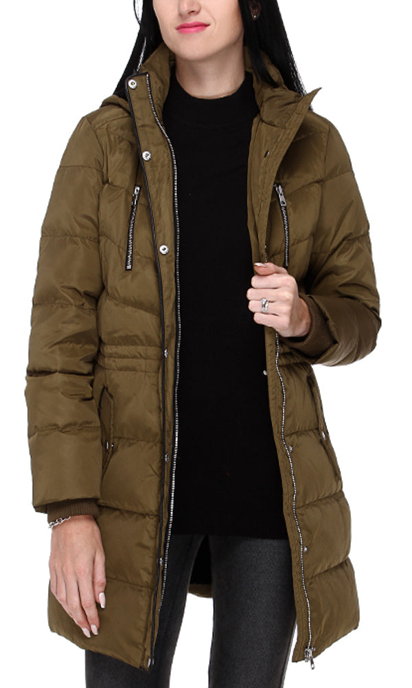 42115 Casual Coat - Army Green