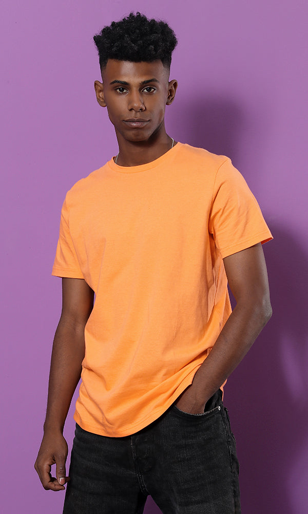 Basic Round Neck T-Shirt