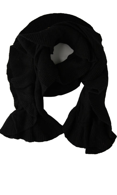 43040 Slip On Casual Scarf - Black