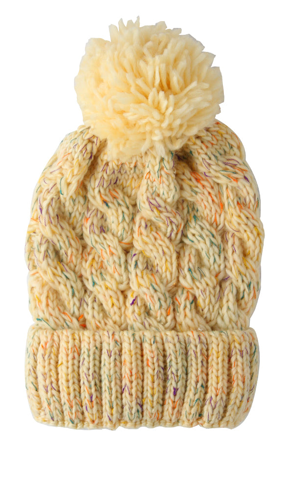 Wool Casual Ice Cap - Heather Beige