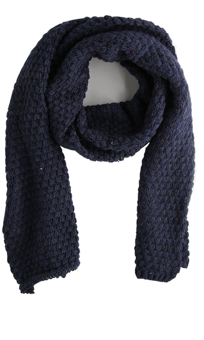 44614 Casual Cuts Scarf - Navy Blue