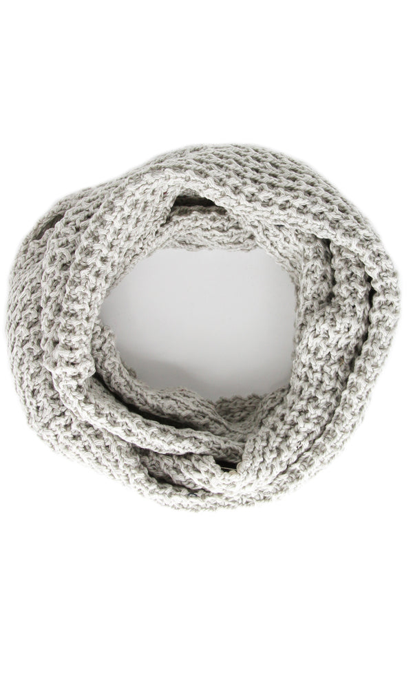 Casual Scarf - Light Grey