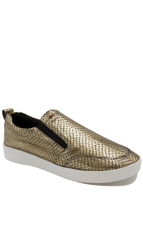 Oxide Pu Casual Slip On - Contrast Outsole