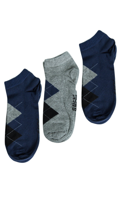 45356 45356-Socks-Gray/White/Blue