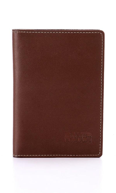 45790 Bifold Leather Brown Wallet - Ravin